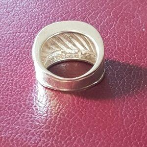 David Yurman Jewelry - David Yurman Diamond Cigar Band Ring
